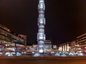 Stockolm by night, Sergelstorg