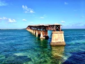 Gammal bro vid Key West