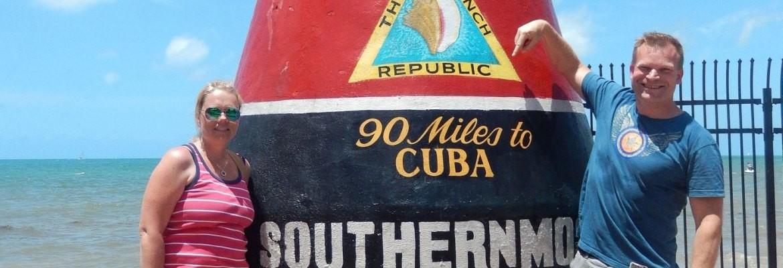Vid sydligaste punkten i Key West